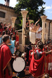 Feast of Bacchus.SPAIN Royalty Free Stock Image