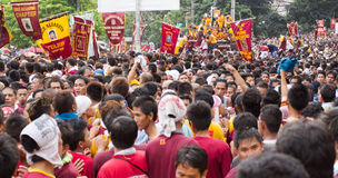 Feast of Black Nazarene in Manila, Philippines Stock Photography