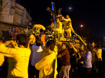 Feast of Black Nazarene in Mindanao, Philippines Stock Photos