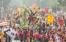 Feast of Black Nazareno, Philippines Royalty Free Stock Photo