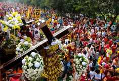 Feast of Black Nazareno, Philippines Royalty Free Stock Photography