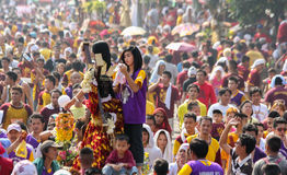 Feast of Black Nazareno, Philippines Royalty Free Stock Image
