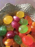 Feast candy isolate. Feast candy background unit isolate royalty free stock image