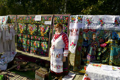 The feast day of the city in the town of Vetka, Gomel region of the Republic of Belarus. Stock Photography