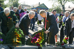 The feast day of the city in the town of Vetka, Gomel region of the Republic of Belarus. Stock Image
