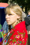The feast day of the city in the town of Vetka, Gomel region of the Republic of Belarus. Stock Images