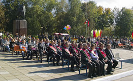 The feast day of the city in the town of Vetka, Gomel region of the Republic of Belarus. Royalty Free Stock Image