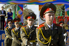 The feast day of the city in the town of Vetka, Gomel region of the Republic of Belarus. Royalty Free Stock Images