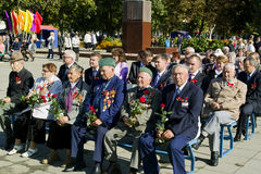 The feast day of the city in the town of Vetka, Gomel region of the Republic of Belarus. Royalty Free Stock Photos