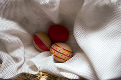 The feast of Easter preparation. Holiday Easter ornament festival celebrate object table Stock Images