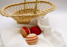 The feast of Easter preparation. Holiday Easter ornament festival celebrate object table Stock Photography