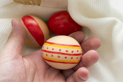 The feast of Easter preparation Stock Images
