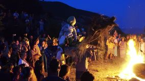 Feast of Ivan Kupala stock video