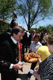 Feast .  LA CABALLADA  . Spain Royalty Free Stock Photography