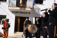 Feast LA CANDELARIA .Retiendas.SPAIN Royalty Free Stock Image