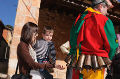 Feast LA CANDELARIA .Retiendas.SPAIN Royalty Free Stock Photo