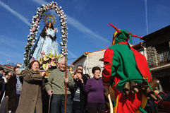 Feast LA CANDELARIA .Retiendas.SPAIN Stock Images