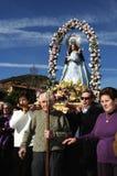Feast LA CANDELARIA .Retiendas.SPAIN Royalty Free Stock Images
