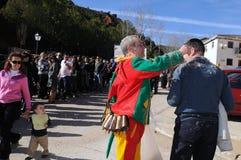 Feast LA CANDELARIA .Retiendas.SPAIN Stock Photo