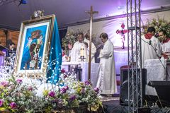 Feast of Our Lady Casaluce Stock Photography