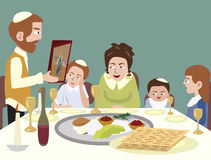 Feast of Passover Stock Images