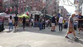 Feast of San Gennaro stock video