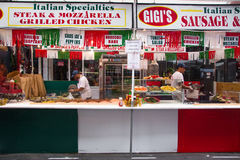 Feast of San Gennaro NYC Royalty Free Stock Images