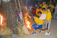 Feast of San Juan in Spain Royalty Free Stock Photo