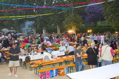 Feast of San Juan in Spain royalty free stock photos