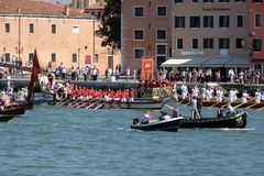 Feast of the Sensa in Venice Royalty Free Stock Images