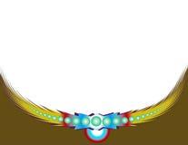 Feather background royalty free illustration
