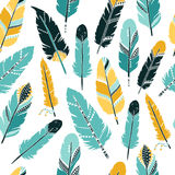 Feather background Stock Images