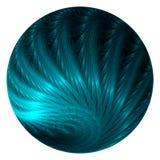 Feather ball vector illustration