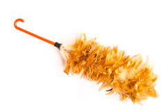 Feather broom Royalty Free Stock Photo