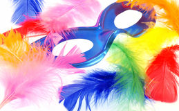 Feather carnival Stock Image