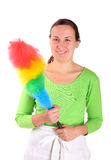 Feather cleaner Stock Image