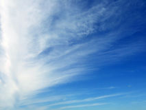 Feather clouds Royalty Free Stock Photography