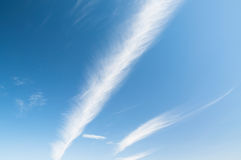 Feather clouds Royalty Free Stock Photos