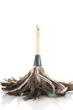 Feather duster. Upside down feather duster cleaner stock images