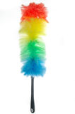Feather duster isolated on white Stock Image