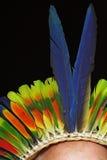 Feather headpiece Royalty Free Stock Photos