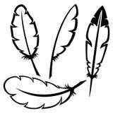 Feather icons. Stock Photos