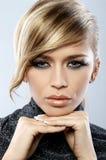 Feather Makeup Stock Photography