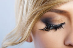 Feather Makeup Royalty Free Stock Photography