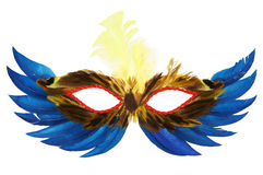 Feather mask Stock Photos