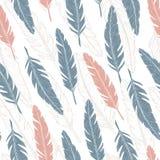 Feather pattern. Vector illustration vector illustration