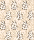 Feather Pattern Royalty Free Stock Photo