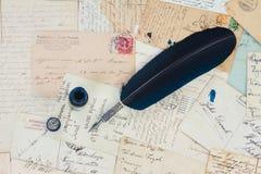 Feather pen Royalty Free Stock Photo
