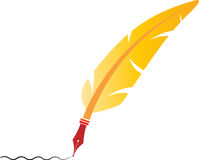 Feather pen Royalty Free Stock Image