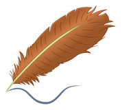 Feather pen Royalty Free Stock Photography
